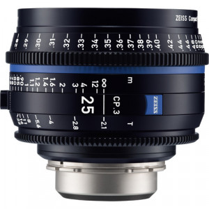 Обьектив ZEISS CP.3 25mm T2.1 Compact Prime Lens (Sony E Mount, Feet)